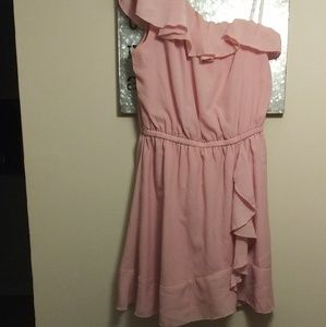 Candie's Pink Ruffled Dress